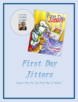 """First Day Jitters"" Lesson"