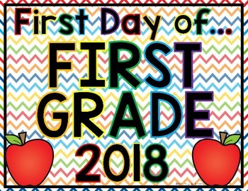 """""""First Day"""" Sign"""