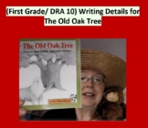 (First Grade) DRA 10  Writing Details for The Old Oak Tree