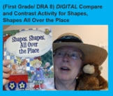 (First Grade/ DRA 8) DIGITAL!  Compare/Contrast Graphic Or