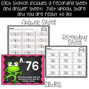 ****First Grade Digital Math Stations NBT***