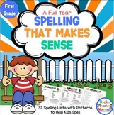 *First Grade Spelling Lists That Make Sense