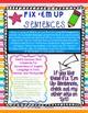 """Fix 'Em Up"" Sentences to edit/correct! *CAPITALIZATION & PUNCTUATION SET 1*"