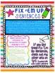 """""""Fix 'Em Up"""" Sentences to edit/correct! *PROPER NOUNS SET 1*"""
