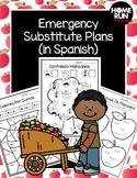 Emergency sub plans in Spanish for 1st grade (Las Manzanas theme)