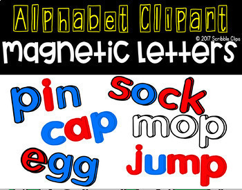 Magnetic Alphabet Letters Bundle (update coming)
