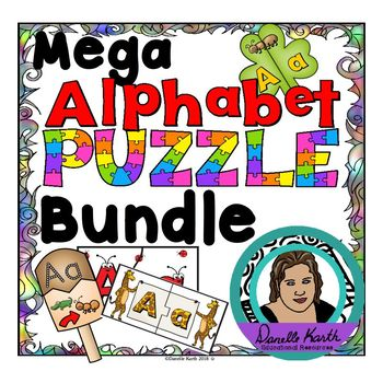 (Flash Deal!) Mega Alphabet Puzzle Bundle for Letters and Sounds