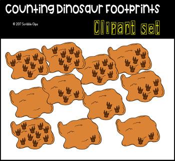 Dinosaur Themed Counting Sets Bundle