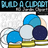 (Flash Discount) Build Your Own Snow Globe Clipart