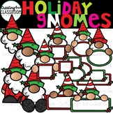 Holiday Gnomes {Holidays Clipart}