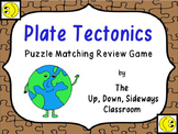 Plate Tectonics Puzzle Matching Review Game