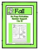 No Prep Math - Say It - Trace It - Read It - Circle It - 1
