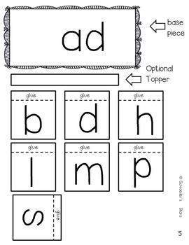 Word Family Flips!  CVC Word families