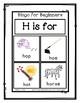 Bingo for Beginners ~ Preschool ~ Focus Letter H Sound