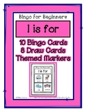 Bingo for Beginners ~ Preschool ~ Focus Letter I Sound