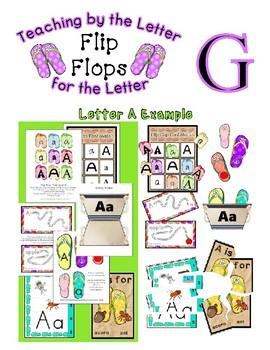 Teaching by the Letter - Flip Flops theme for Letter G