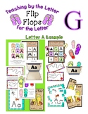Teaching by the Letter - Flip Flops theme for Letter G