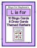 Bingo for Beginners ~ Preschool ~ Focus Letter L Sound