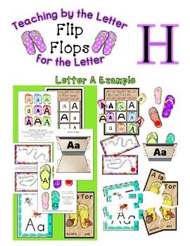 Teaching by the Letter - Flip Flops theme for Letter H
