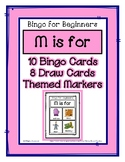 Bingo for Beginners ~ Preschool ~ Focus Letter M Sound