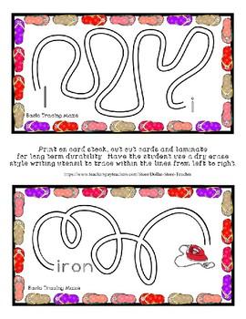 Teaching by the Letter - Flip Flops theme for Letter I