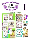 Teaching by the Letter - Flip Flops theme for Letter I
