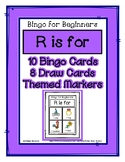 Bingo for Beginners ~ Preschool ~ Focus Letter R Sound