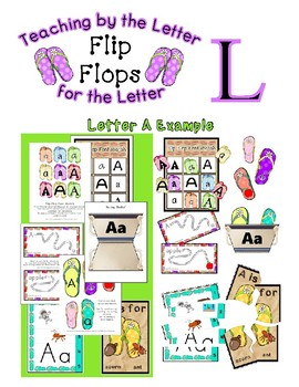 Teaching by the Letter - Flip Flops theme for Letter L