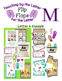 Teaching by the Letter - Flip Flops theme for Letter M