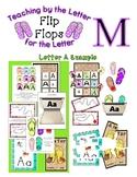 Teaching by the Letter - Flip Flops theme for Letter M