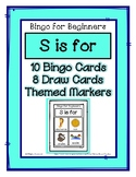 Bingo for Beginners ~ Preschool ~ Focus Letter S Sound