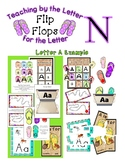 Teaching by the Letter - Flip Flops theme for Letter N