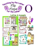 Teaching by the Letter - Flip Flops theme for Letter O