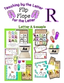 Teaching by the Letter - Flip Flops theme for Letter R