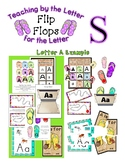 Teaching by the Letter - Flip Flops theme for Letter S