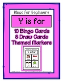 Bingo for Beginners ~ Preschool ~ Focus Letter Y Sound
