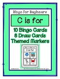 Bingo for Beginners ~ Preschool ~ Focus Letter C Sound