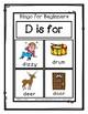 Bingo for Beginners ~ Preschool ~ Focus Letter D Sound