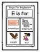 Bingo for Beginners ~ Preschool ~ Focus Letter E Sound