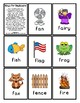 Bingo for Beginners ~ Preschool ~ Focus Letter F Sound