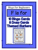 Bingo for Beginners ~ Preschool ~ Focus Letter F Sound