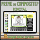 Prime or Composite? Task Card Set # 2 with Coded Answer Document