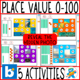 Distance Learning Boom Cards Number Sense with Ten Blocks