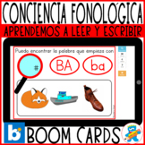 *Flash Sale* Boom Cards Working B, D, R, T Spanish Phonolo
