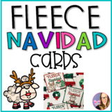 'Fleece' Navidad Cards- Feliz Navidad