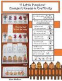 """Five Little Pumpkins"" Flip the Flap Craft & Emergent Reader Booklet"