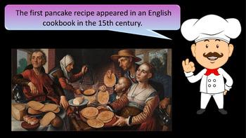 """""""Flippin' Pancakes"""" Presentation -  Fun and Fascinating Pancake Day Facts"""