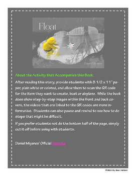 """Float"" - GA Picture Book Award Nominee 2016-2017"