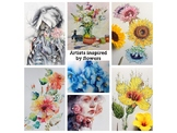 """Flowers and nature' artists to inspire art students"
