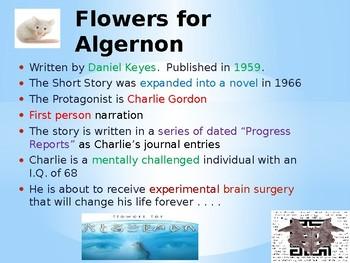 """Flowers for Algernon"" Notes"